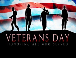 Veterans Day soldiers ad