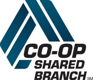 coop shared branching logo blue