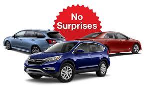 no surprise car ad 3 cars