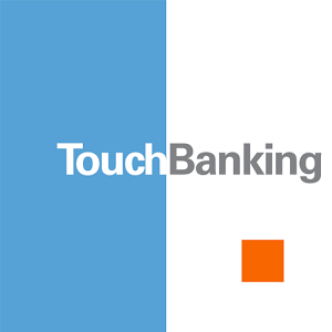 Mobile banking ad for Touch Banking