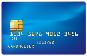 Chip credit card image