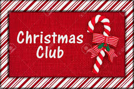 Christmas Club Ad with candy cane